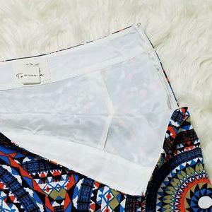 Anthropologie Skirts - Tabitha Olmeda Tribal Print Pencil Skirt Size 10